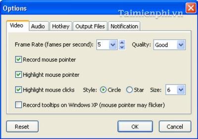 Cách sử dụng phần mềm FastStone-Capture quay lại màn hình